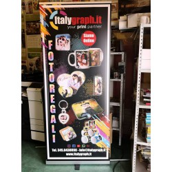 Roll-up Cube Monofacciale