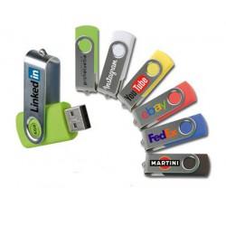 10 Chiavette USB da 4Gb Stampa a Colori
